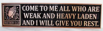WOODEN PLAQUE CHRISTIAN GIFT