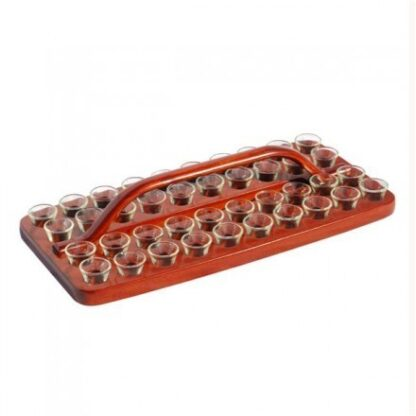 Communion Tray Wooden 40 Cup