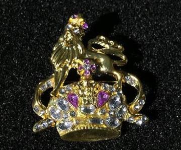 LION OF JUDAH BROOCH