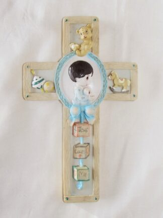 RESIN CROSS - BOY