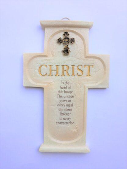RESIN CROSS - CHRIST