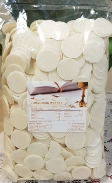 COMMUNION WAFERS QTY 1400 PIECES