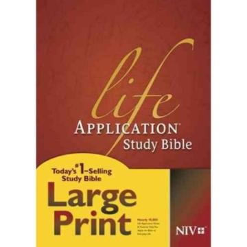 LIFE AAPICATION STUDY BIBLE LARGE PRINT NIV CHRISTIAN GIFT STORE SYDNEY