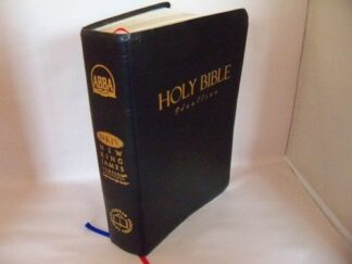 Alkitab Holy Bible- New King James Version -- Diglot in Indonesian and English (Imitation Leather with Thumb Index Edition) (Indonesian)