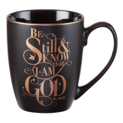 Be Still Psalm 46-10 Coffee Mug