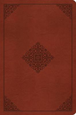 ESV Compact Outreach Bible, Premium Edition English Standard Version, Outreach, TruTone Saddle, Ornament Design
