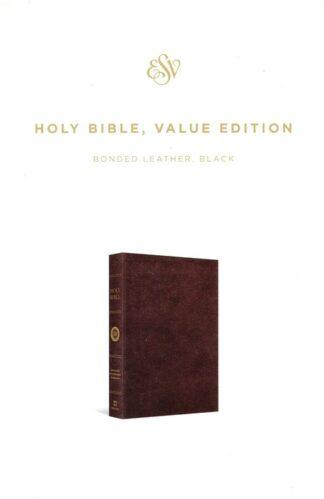 ESV Holy Bible Value Edition Black (Black Letter Edition)