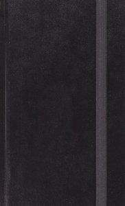 ESV Journaling Bible Writer's Edition Black (Black Letter Edition)
