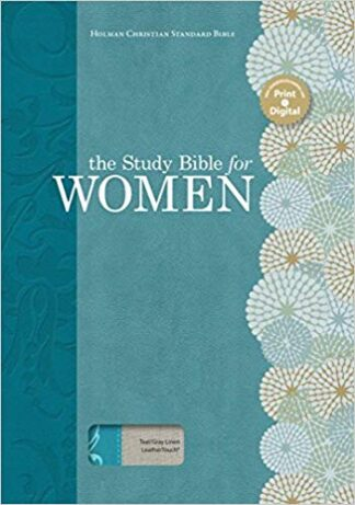 HCSB Holman Study Bible For Women HCSB Edition Teal-Gray Linen