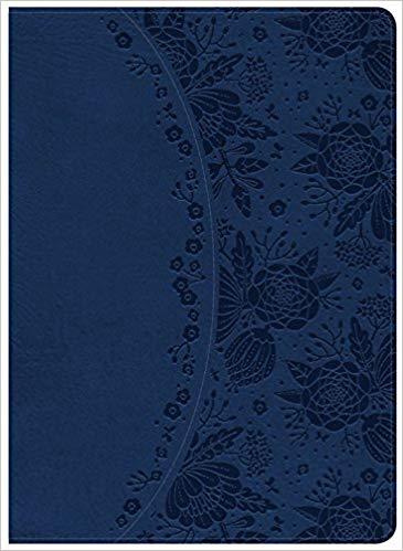 Holman Study Bible NKJV Edition, Indigo LeatherTouch,