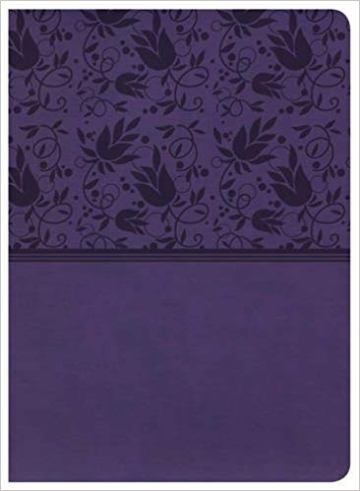 Holman Study Bible NKJV Edition, Purple LeatherTouch, Indexed