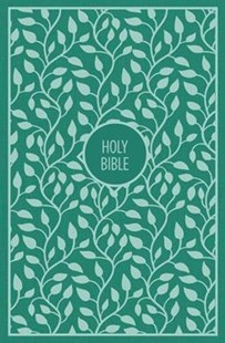 KJV THINLINE BIBLE, LARGE PRINT, CLOTH OVER BOARD, RED LETTER EDITION [TURQUOISE]