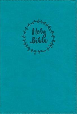 NIV Value Thinline Bible Large Print Blue, Imitation Leather 1