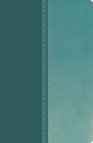 NKJV, Ultraslim Reference Bible, Leathersoft, Turquoise, Red Letter Edition (Classic)