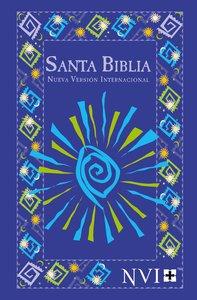 Nvi Santa Biblia-Nvi Outreach Bible Blue Fiesta-Spanish Bible