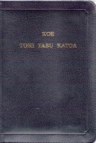 Tongan Bible West Old Imitation Leather Zip