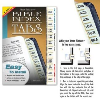Bible Index Tabs – Shofar Christian Stores
