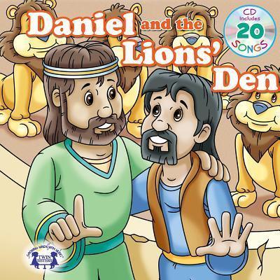 Daniel & the Lions Den Padded Board Book & CD