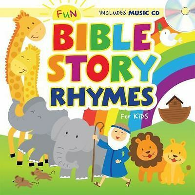 Fun Bible Story Rhymes for Kids with CD