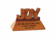 Desk Top Plaque-Wooden-Joy