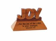 Desk Top Plaque-Wooden-Joy