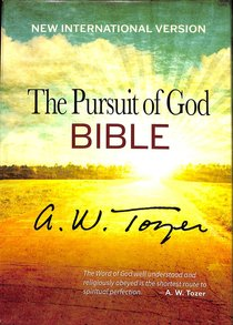 Holy Bible-The Pursuit of God NIV, Imitation Leather, Terra Cotta, Flexisoft Imitation Leather – International Edition, September 1, 2013