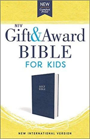 NIV Gift and Award Bible For Kids Blue (Red Letter Edition)