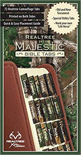 REALTREE™ Majestic Bible Tabs - Camo