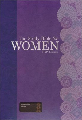 he Study Bible for Women, NKJV Edition, Cocoa Genuine Leather