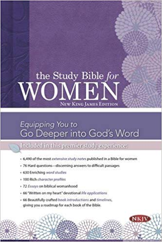 The Study Bible for Women- NKJV Edition, Printed Hardcover Hardcover – October 1, 2015