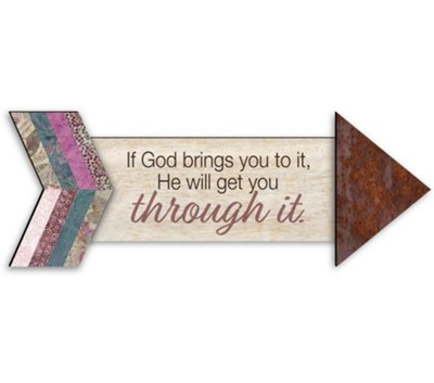If God Brings it to You, Pathways Arrow Magnet