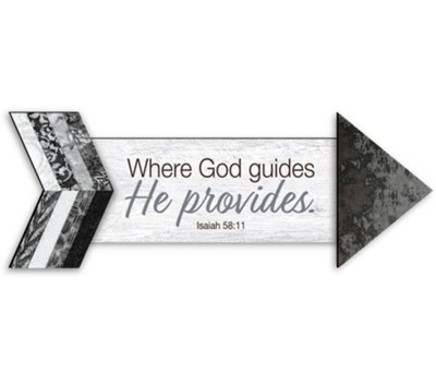Where God Guides, Pathways Arrow Magnet